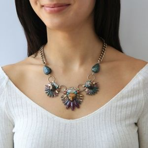 Wild Earth Statement Necklace